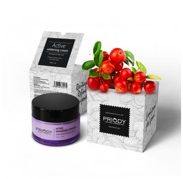 PRIODY - Aktivní bělící krém (50ml)