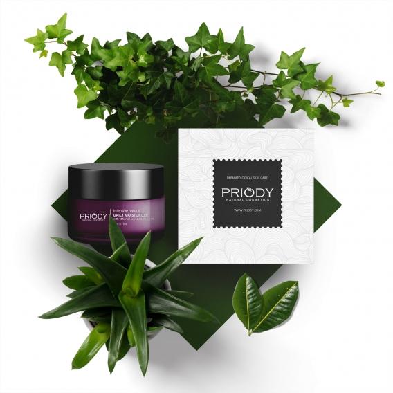 PRIODY | Intenzivní přírodní hydratační krém s 12 rostlinnými extrakty a vitamínem C 15%