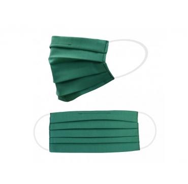 Dvouvrstvá ochranná rouška - zelená