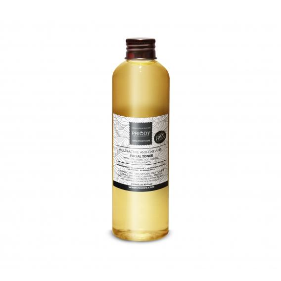 PRIODY - Multiaktivní antioxidační micelární voda s kyselinou hyaluronovou, rostlinnými a ovocnými extrakty
