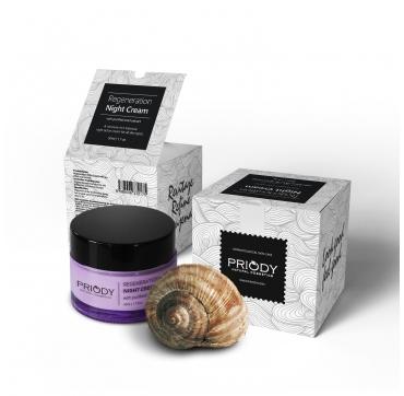 PRIODY | Regenerační noční krém s čistým hlemýždím extraktem